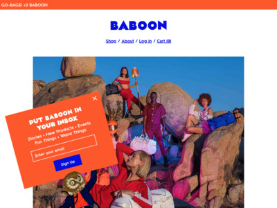 BABOON | Duffle Bags for Adventure