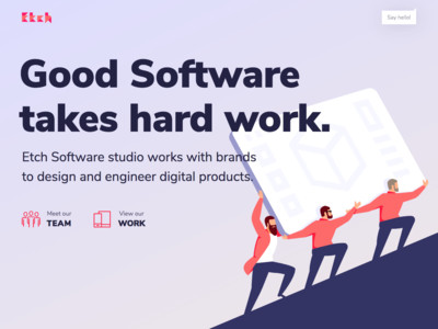 Etch Software Studio – Web App Design & Development