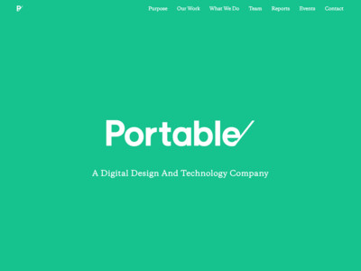 Portable | Portable | Service Design, User Experience and Technology