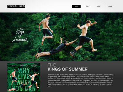 CBS Films - The Kings Of Summer