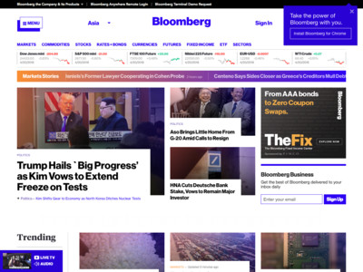Bloomberg -  Asia Edition