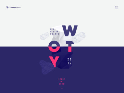 Website of the Year 2017 - CSS Design Awards