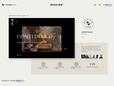CSS Design Awards - Website Awards - Best Web Design Inspiration - CSS Awards
