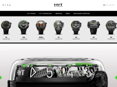 HYT Watches | Swiss Luxury Hydro Mechanical Watches