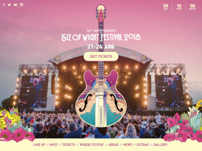 Isle of Wight Festival 21-24 June 2018 - Isle of Wight Festival