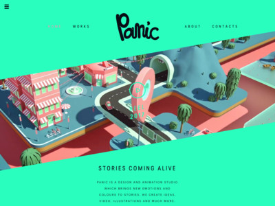 Panic - Stories coming alive