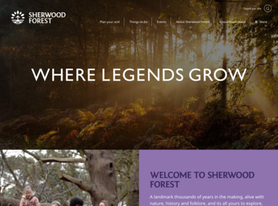 Sherwood Forest – Where legends grow
